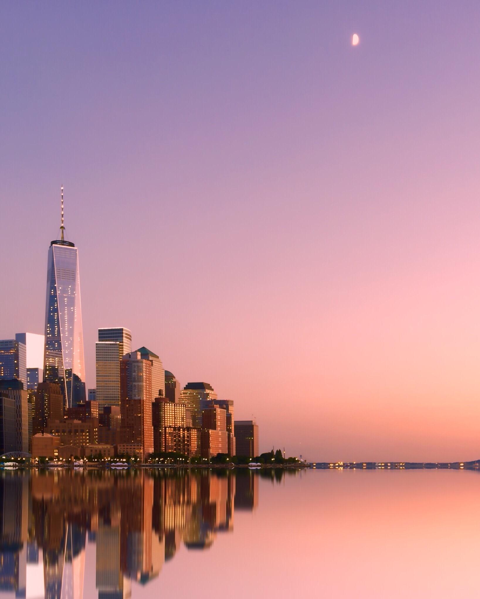 sunset-new-york-city